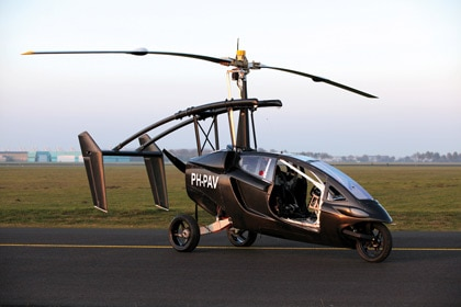 Pal-V One gyrocopter ready for flight