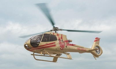 Papillon Group reveals its Golden Helicopter for the company's 50th Anniversary in April 2015