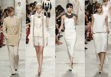 Runway looks from the Chanel 2014 Resort Collection