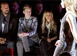Nicole Richie and other celebrities front row at Mercedes-Benz Fashion Week in New York