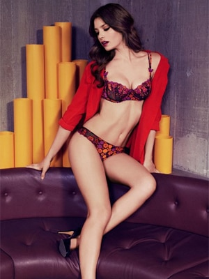 Aubade's Fleurs De Pommier collection combines comfort and seduction