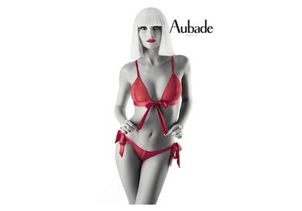 Aubade's My Crazy Collection is dedicated to glamour, impertinence and lovers' games
