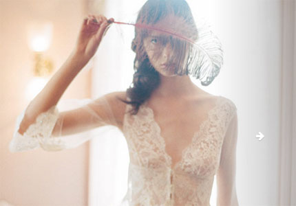 A dreamy Claire Pettibone creation