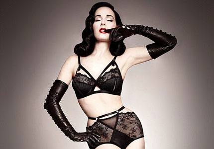 Dita Von Teese's new Star Life collection for Von Follies, one of our Top 10 Sexy Lingerie Brands