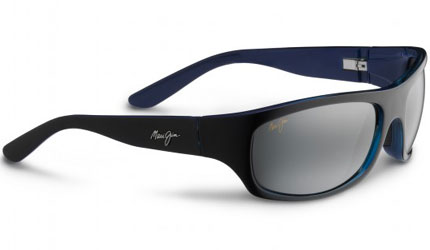 "Maui Jim ""Surf Rider"" glasses in Black with Blue/Neutral Grey"