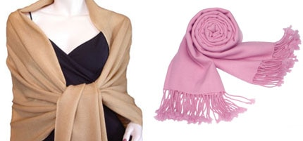 High quality pashmina wraps at low prices