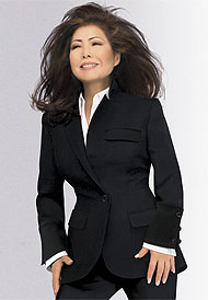 Susanna Chung Forest designed many of the pantsuits Hillary Clinton wore during her campaign
