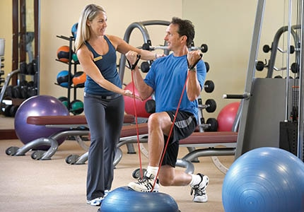 The fitness team at California Health & Longevity Institute can show you how to take your workout on the road