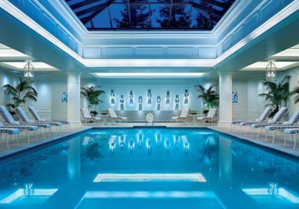 The indoor pool at California Health & Longevity Institute
