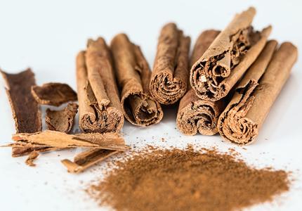 Cinnamon is full of calcium and fiber
