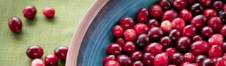Cranberries are packed with vitamin C and other beneficial nutrients
