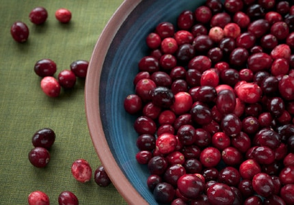 Cranberries are an excellent source of Vitamic C whether eatan fresh or dried