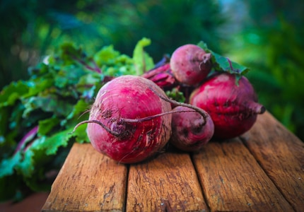 Though available year round, beets are sweetest and most tender during their peak season: from June to October