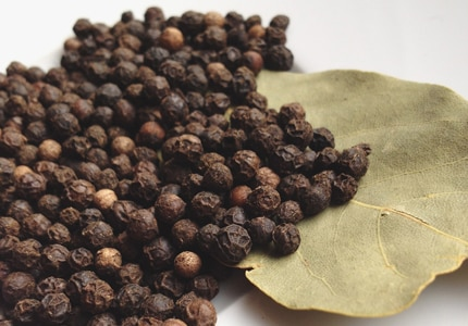 Black peppercorns are believed to have anti-carcinogenic properties