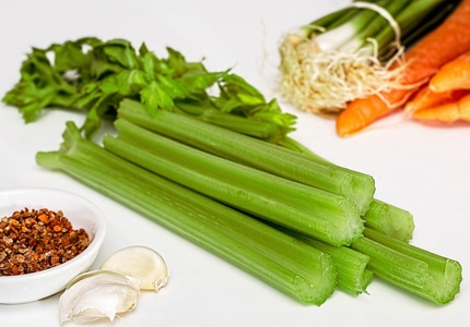 Celery is known to reduce blood pressure