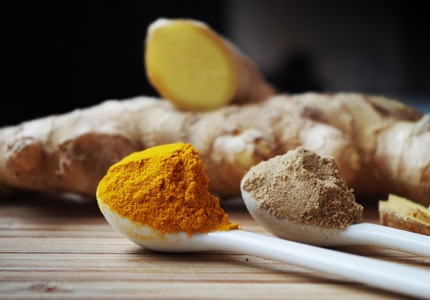 Turmeric, which grinds into a bright orange-yellow powder, has long been revered in ancient Chinese and Indian Ayurvedic medicine for its potent healing properties