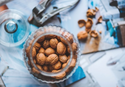Walnuts are packed with antioxidants that support the immune system