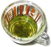 Scientists believe that green tea may contain cancer-fighting properties
