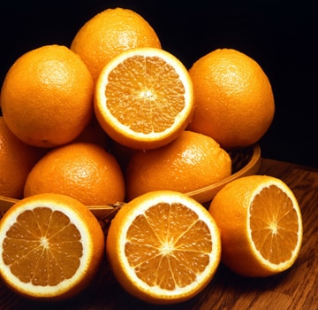 Oranges, along with other citrus fruits, are an excellent source of Vitamin C