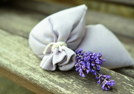 Lavender is known to calm the nerves and prevent insomnia