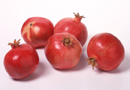 Pomegranates lower the risk of heart disease and taste great, too