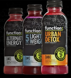 Function Drinks: Alternative Energy, Light Weight and Urban Detox