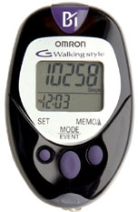Omron Healthcare Pocket Pedometer