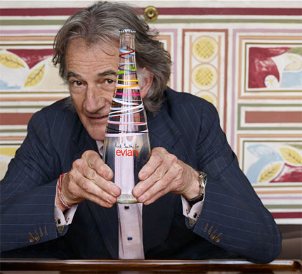 Evian Teams Up with Paul Smith