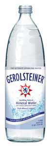 Gerolsteiner Mineral Water is the number-one water export in Germany