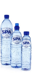 Spa Water is sourced from Belgium