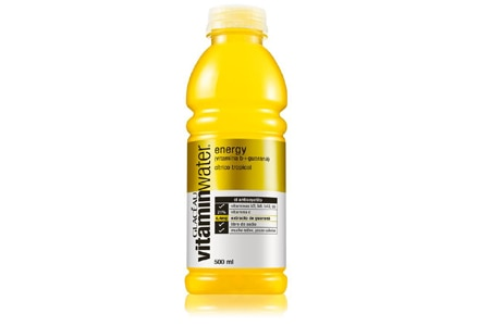 Vitaminwater is enhanced with vitamins, electrolytes and performance boosters such as bioenergy ribose