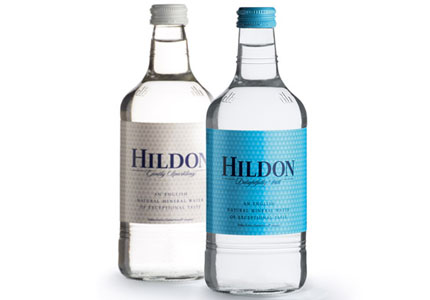 Hildon Natural Mineral Water, one of GAYOT's Top 10 Bottled Waters