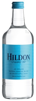Hildon Natural Mineral Water is bottled without chemical treatment