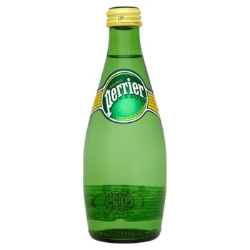 Perrier Mineral Water is sourced from France