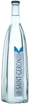 Saint Geron Mineral Water is collected from a centuries-old spring in Auvergne, France