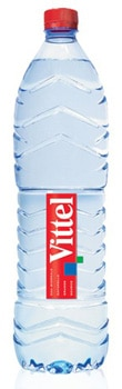 Vittel Water is sourced from the Vosges Mountains in France