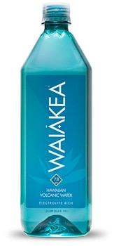 Waiakea Hawaiian Volcanic Water, one of GAYOT's Top 10 Bottled Waters
