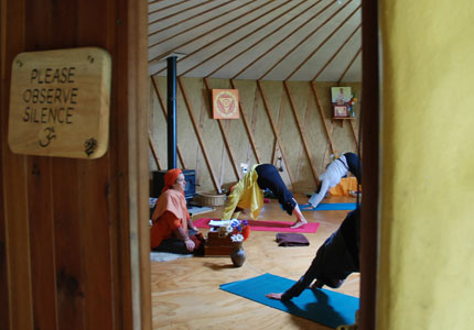 Anahata Yoga Retreat is the only one of its kind in New Zealand