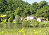 Guests stay in an 18th century chateau at Domaine de la Grausse in France