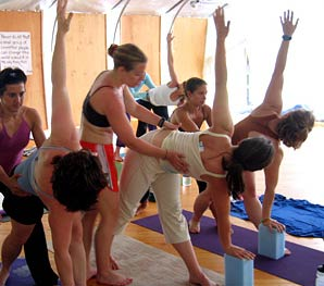 Baptiste Power Yoga Institute in Cambridge, Massachusetts