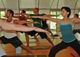 Guests at Kalani Retreat Center enjoy a wide variety of yoga styles
