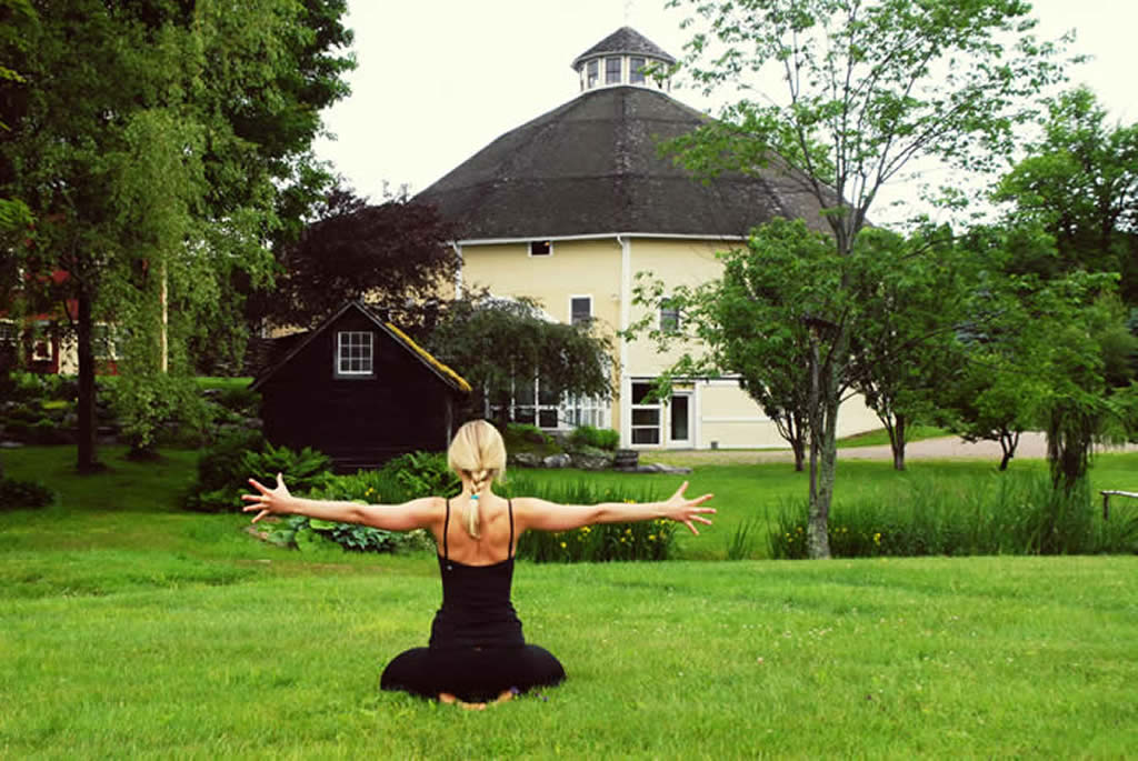 Stowe Yoga Retreat Center, one of Gayot's top yoga retreats in the world