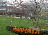 A range of lodgings are available at Anahata Yoga Retreat in New Zealand