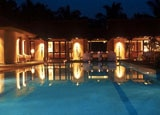 A pool at Shreyas Yoga Retreat