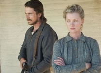 Christian Bale and Gretchen Mol in 3:10 to Yuma