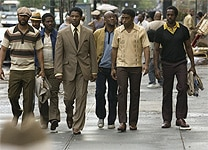 Common, Denzel Washington and Chiwetel Ejiofor in American Gangster