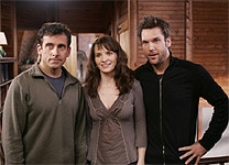 Steve Carell, Juliette Binoche and Dane Cook in Dan in Real Life