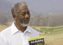 Morgan Freeman reprises his role as God