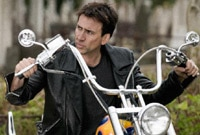 "Nicolas Cage in ""Ghost Rider"""