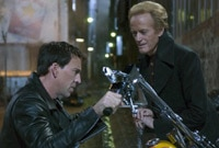 "Nicolas Cage and Peter Fonda in ""Ghost Rider"""